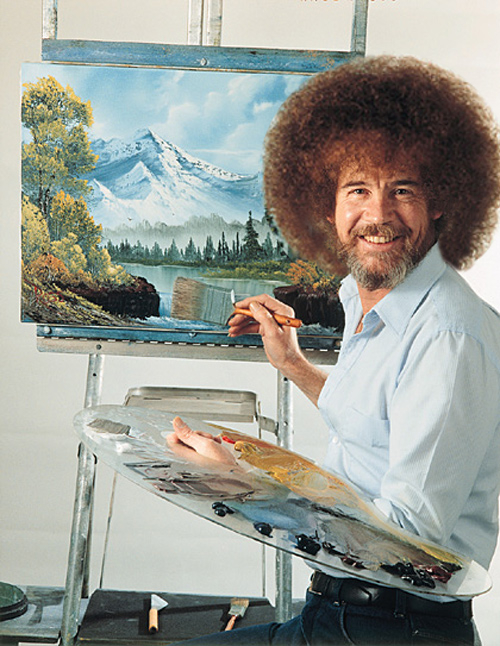 Actually, Bob Ross was the guy who created him. You're thinking of Bob Ross's monster.