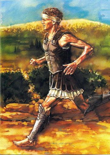 A Real American Hero: G.I. Pheidippides.