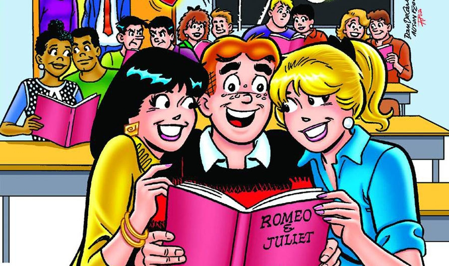 It's the kind of classic mix-em-up that Archie and the gang were always finding themselves in. Hilarious.