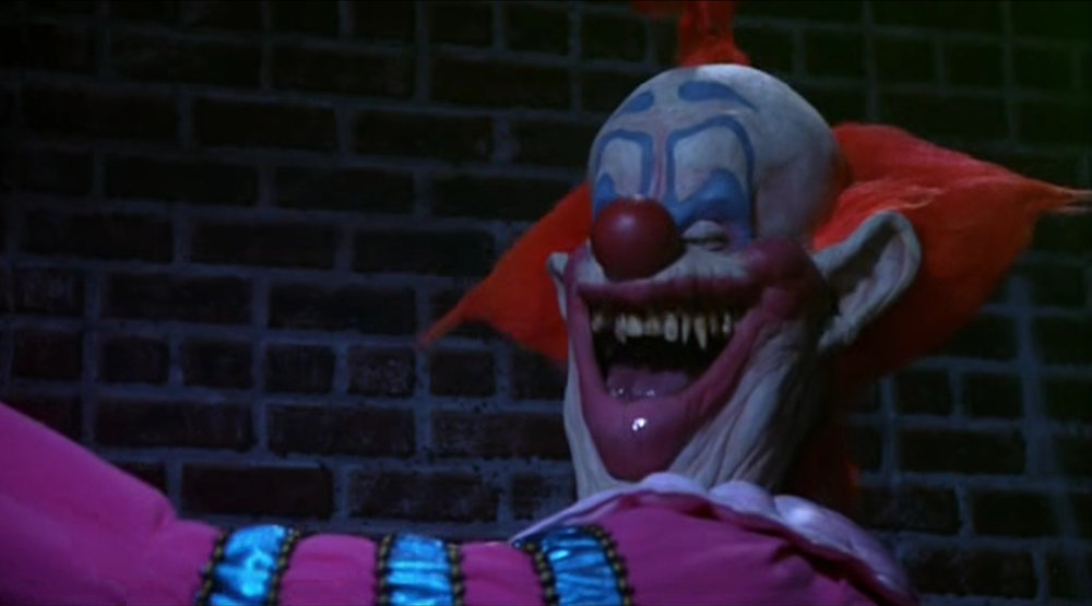 Killer klowns from outer space 1988 a to z horror for Killer klowns 2
