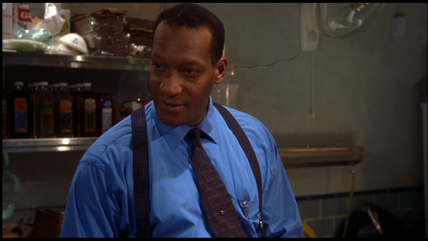 Tony Todd as Bludworth, the highly knowledgeable mortician who is totally cool with teens sneaking around in his morgue. Seems normal to me...