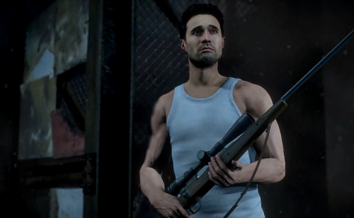 Hell... you even get some shooting mechanics. Just look at those guns.