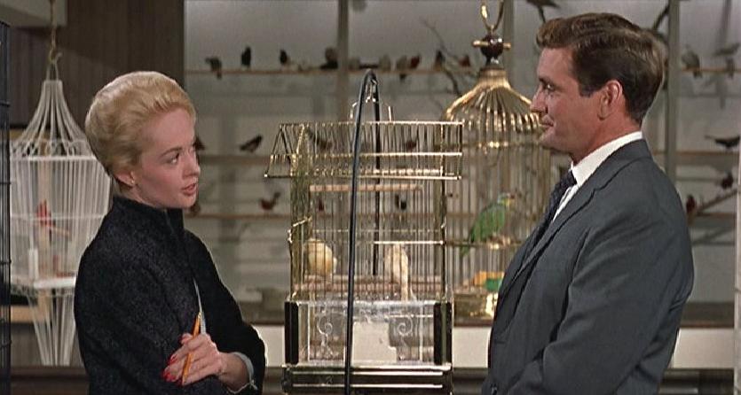 It was love at first bird-prank.