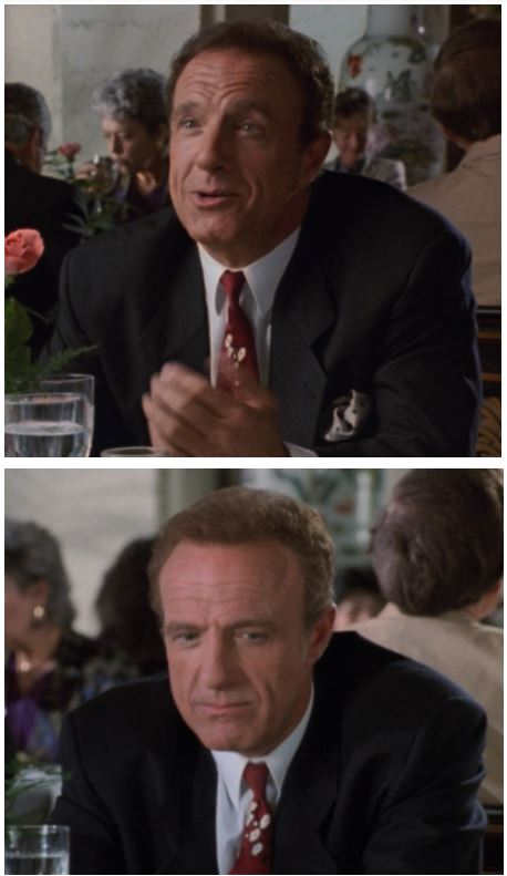 Mark is convinced these are two different James Caans. He might be right?