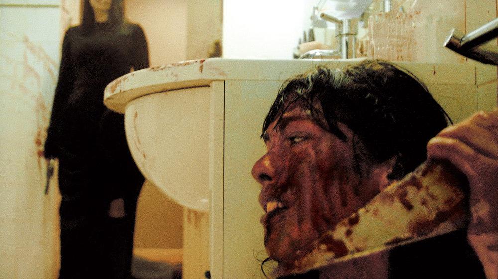 """""""I'm safe . . . er?""""  Image: La Fabrique de Films / Bloody Disgusting"""