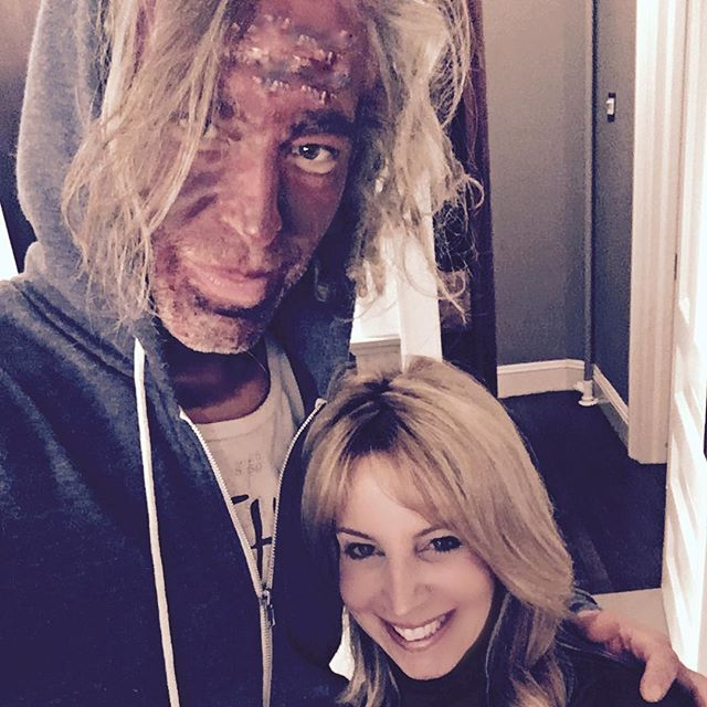 Happy Halloween @hairbyandreanyack thanks for coming to the  zombie house!