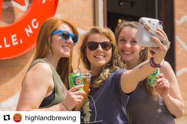 Come get your free photos @highlandbrewing on Friday! We'll be there celebrating the release of their Wanderlush Hazy Adventure Ale. Come join us!  #Repost @highlandbrewing with @get_repost ・・・ Join us next Friday for the official release of Wanderlush Hazy Adventure Ale and the grand reopening of the Meadow! Experience the life of a true wanderer with our friends from @ashevillevanlife , get lost in the music as @avllyric belts her soulful tunes, and capture the moment with a snapshot from @thebusbooth . A dollar per pour of Wanderlush at the release party will be donated to the @appalachian_org . For more details check out the link in our bio. #Asheville #Wanderlush #summervibes #polaroids #selfie #828isgreat #diglocal #warmweather #summeradventures