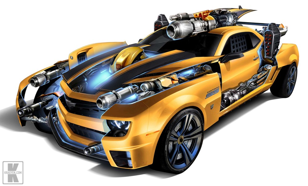 Bumblebee Stealth Force Design Rendering