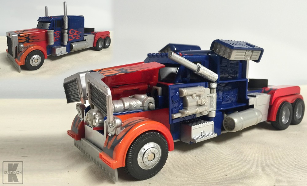 Optimus Prime Stealth Force Toy