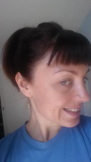 Day 7 after using scrub! Still no make-up!