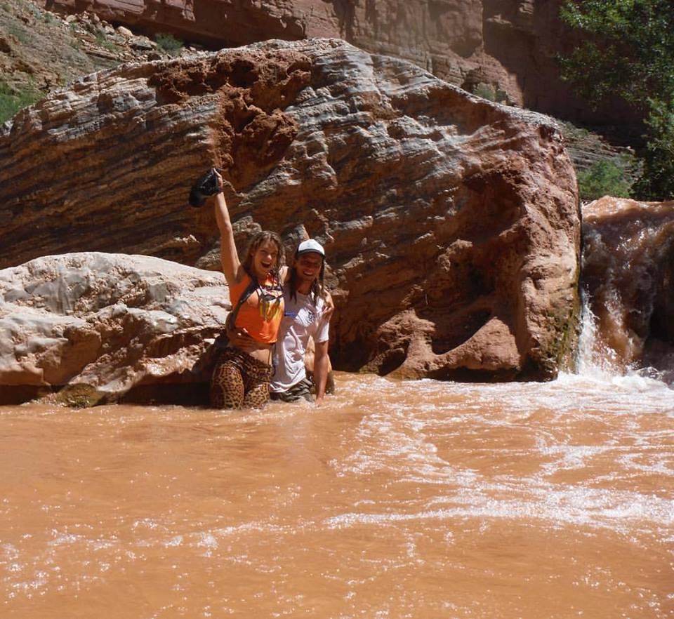 chocolate milk colorado river August 2015