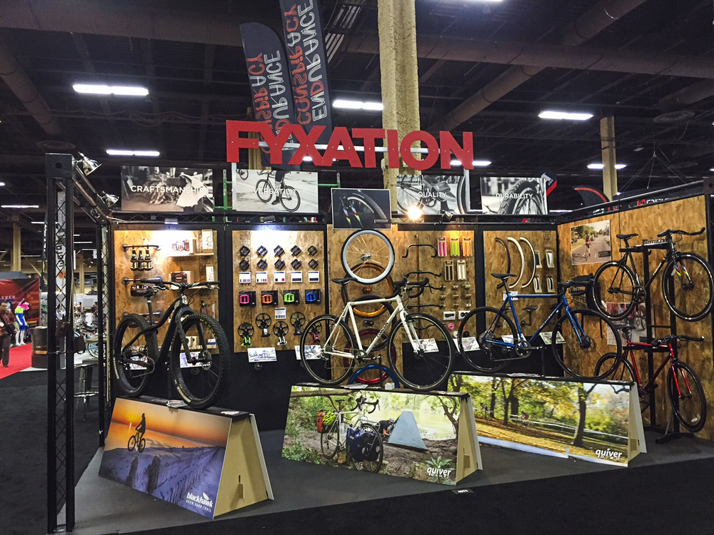2015 Interbike Booth Display