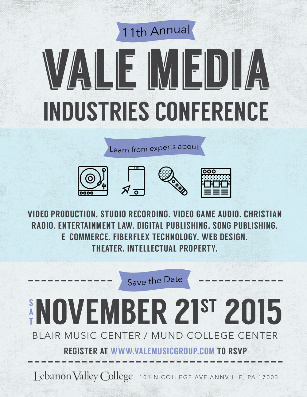 Vale Conference Poster