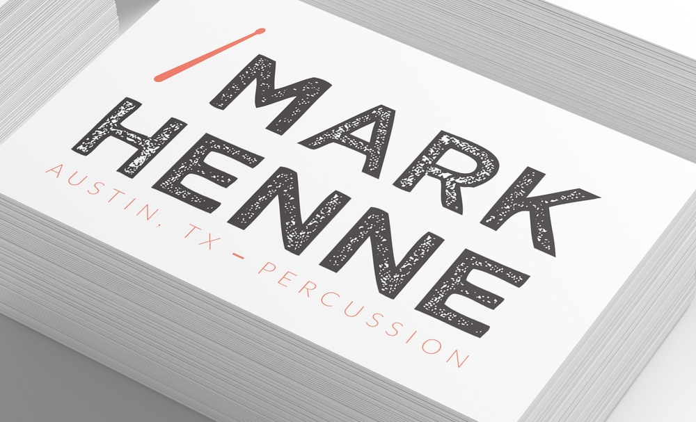 Mark Henne Business Card