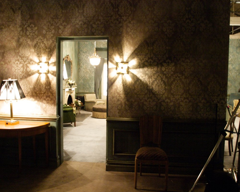 Wallcovering for Louis Vuitton