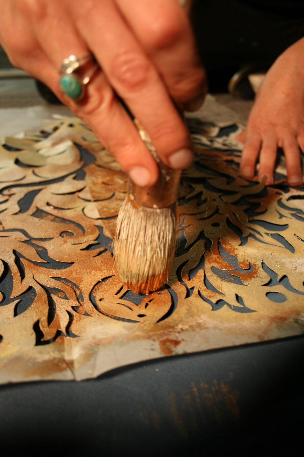 hands stencilling.JPG