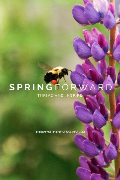 Spring Forward Thrive With The Seasons EBook