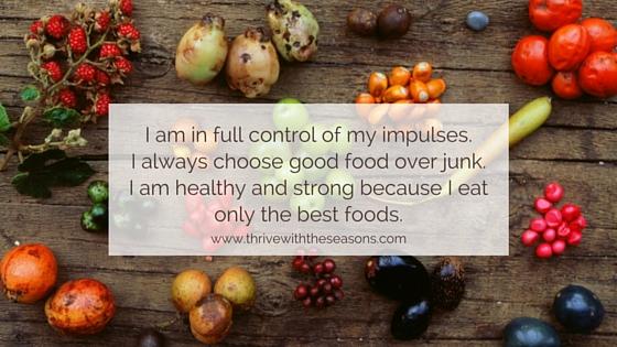 food affirmations