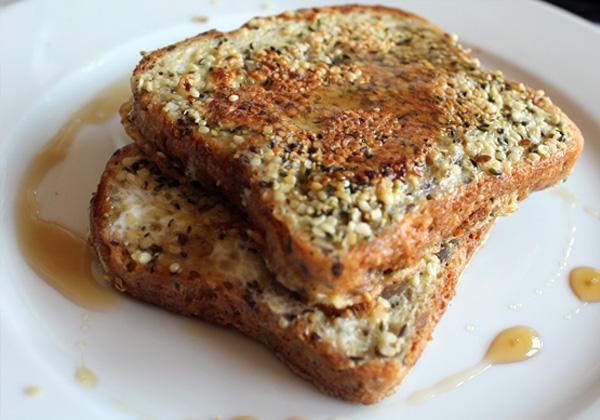 French Toast Recipe Toasted Hemp Hearts