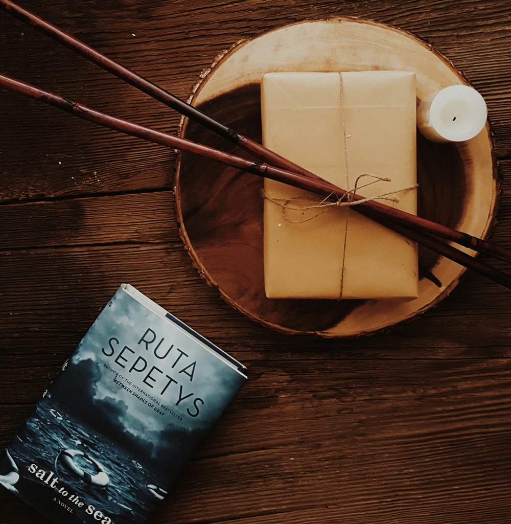 Photo taken by Cicely Ford Salt to the Sea by Ruta Sepetys PUBLISHED BY Philomel Books, February 2, 2016 GENRES: Young Adult Fiction, Historical Fiction PAGES: 400 FORMAT: HArdback SOURCE: Purchased PACING: {5/5}