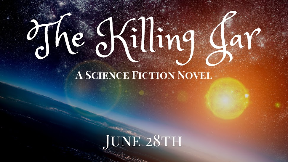 The Killing Jar by R.S. McCoy promotional banner
