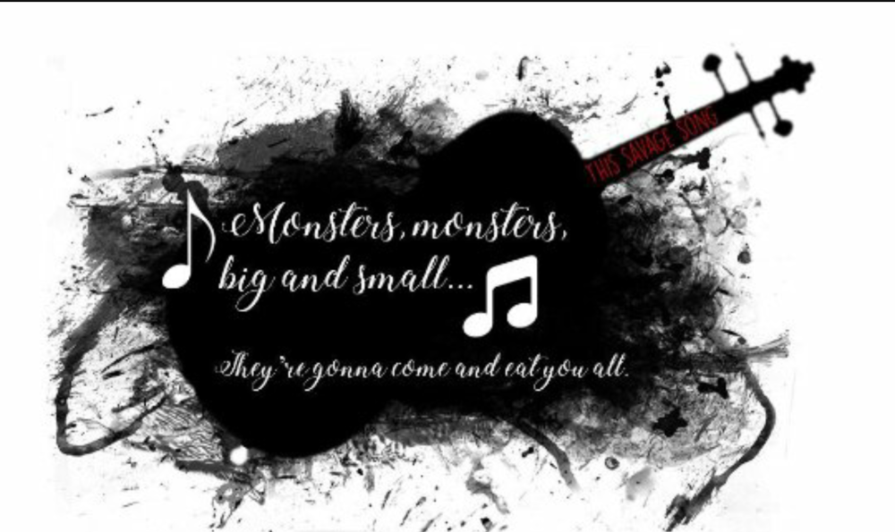 Monsters, monsters big and small... They're gonna come and eat you all.
