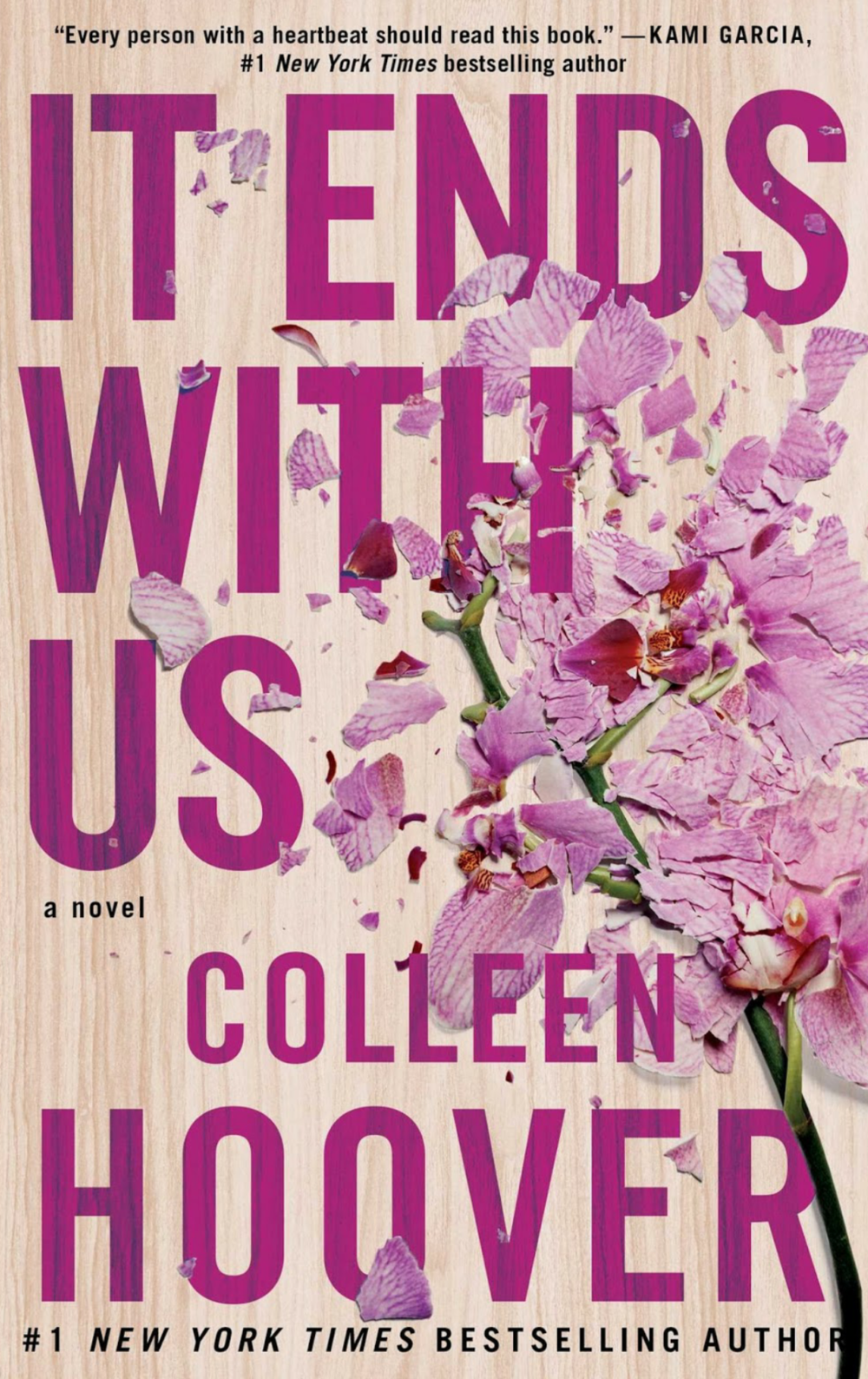IT ENDS WITH US BY COLLEEN HOOVER PUBLISHED August 2, 2016 by Atria Books GENRES: YOUNG ADULT/FICTION PAGES: 367 FORMAT: Digital/Kindle SOURCE: Download PACING: {5/5}