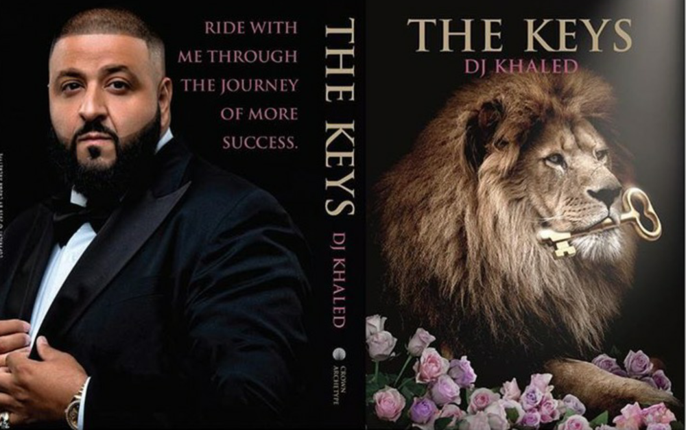The Keys by DJ Khaled PUBLISHING DATE: November 22, 2016 GENRE: PAGES:192 FORMAT:HARDCOVER SOURCE:Crown Archetype PACING: {5/5}