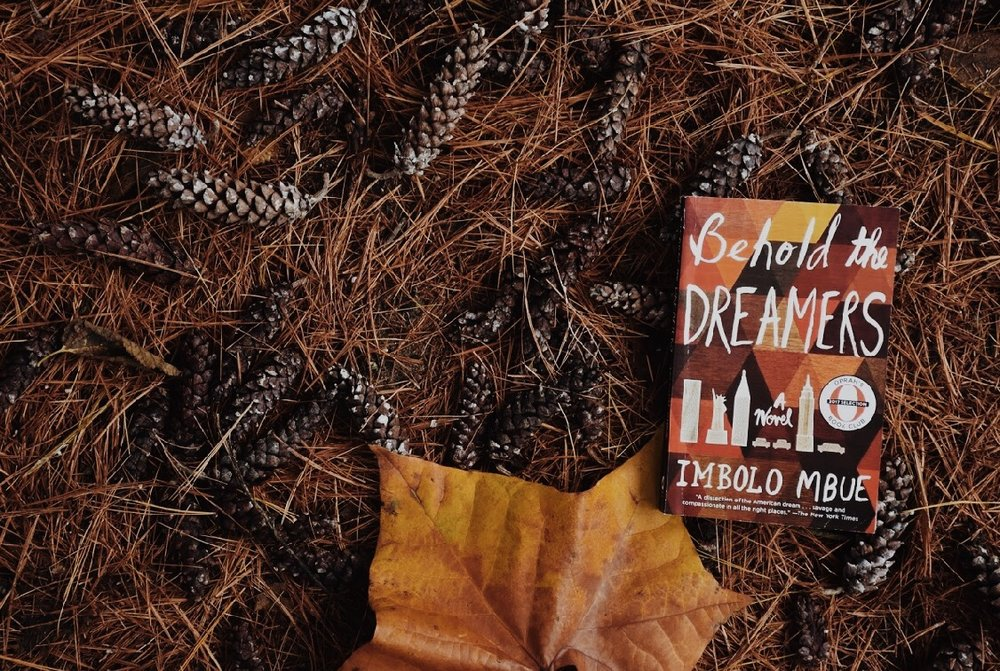 Photo cred: cici ford   Behold the Dreamers by Imbolo Mbue   Paperback  PUBLISHED March 15, 2016 Random House Trade  PACING 3/5