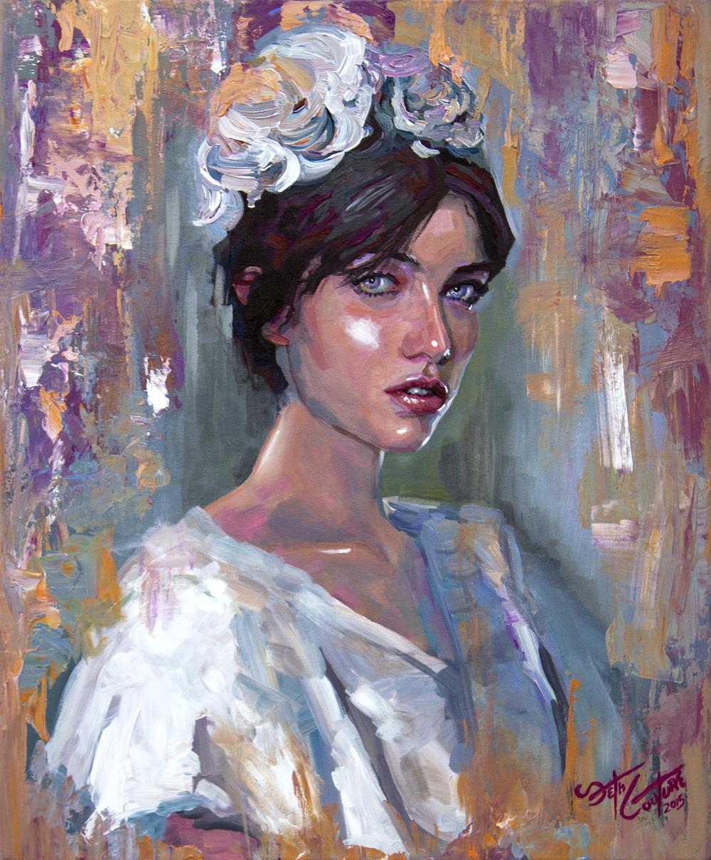 Portrait of Adela