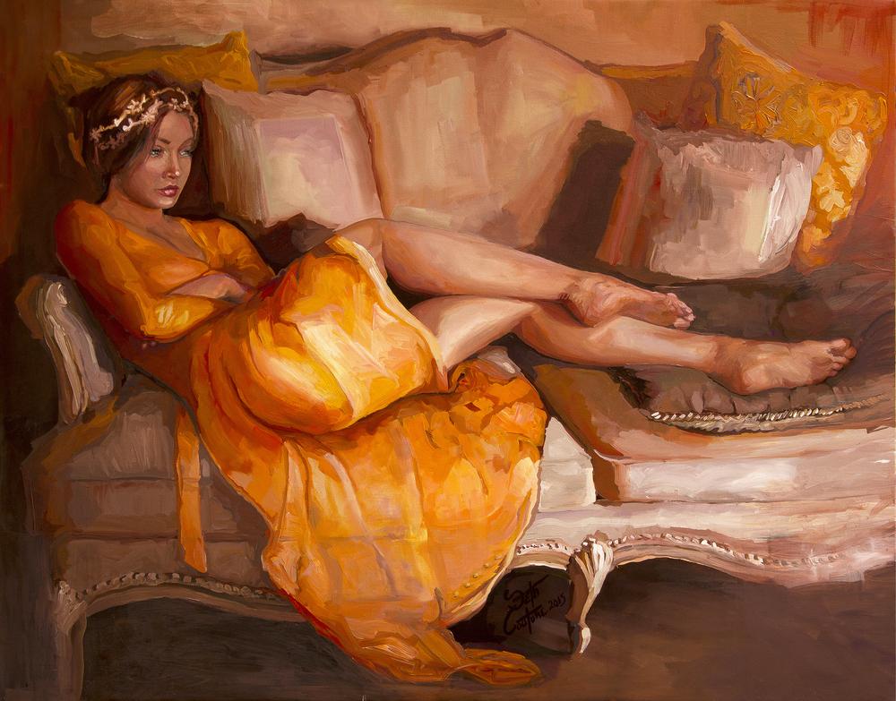 Portrait of Camellia
