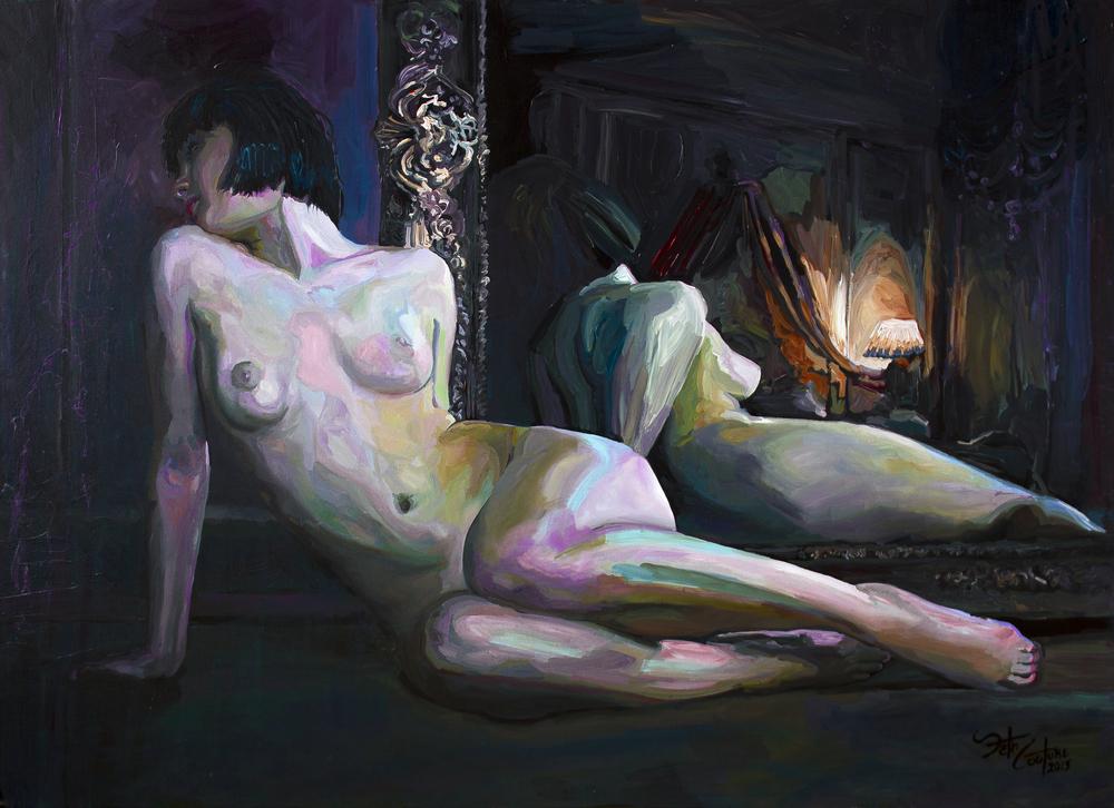 Frederique, Nude