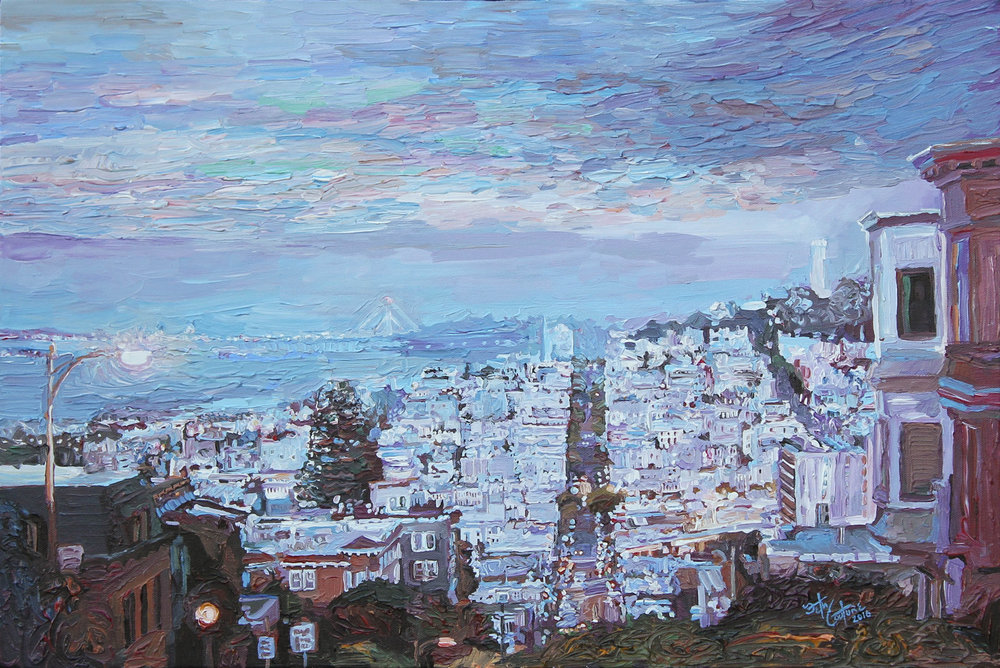 Lombard St in September Dusk