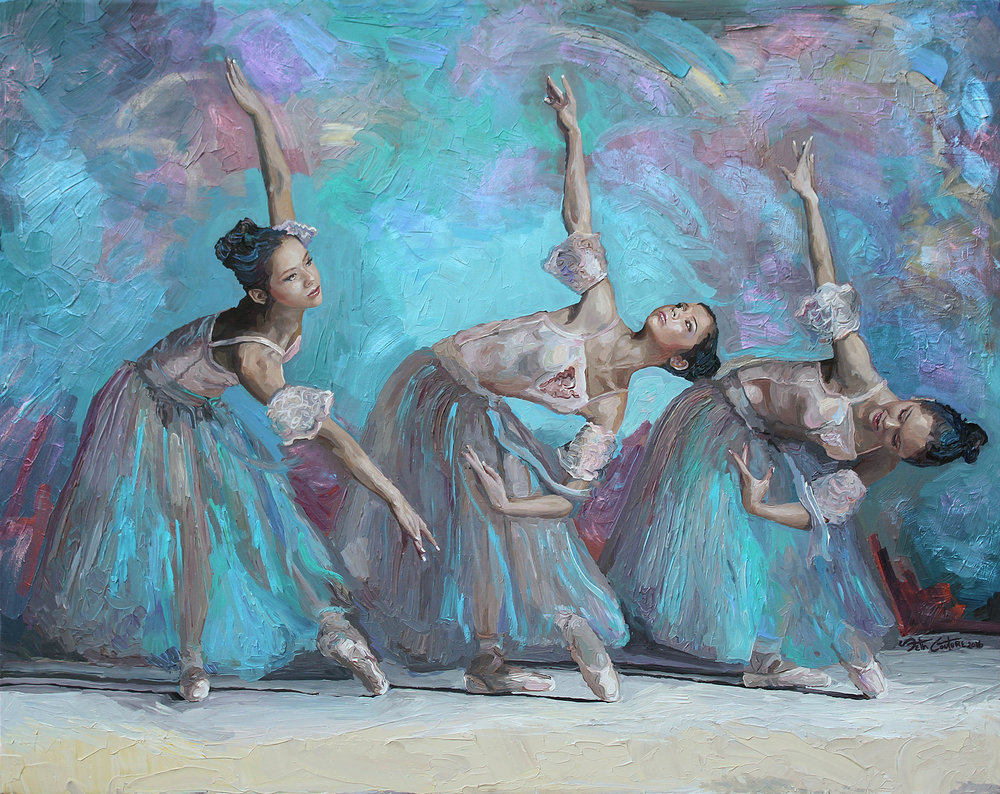 Ballerina Movement Study No 4