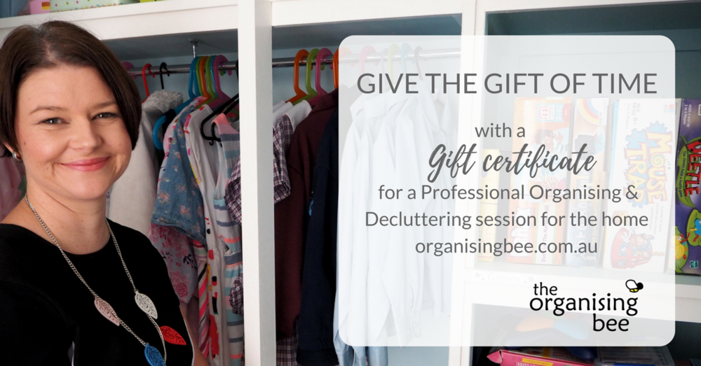 Give the Gift of Time Professional Organising