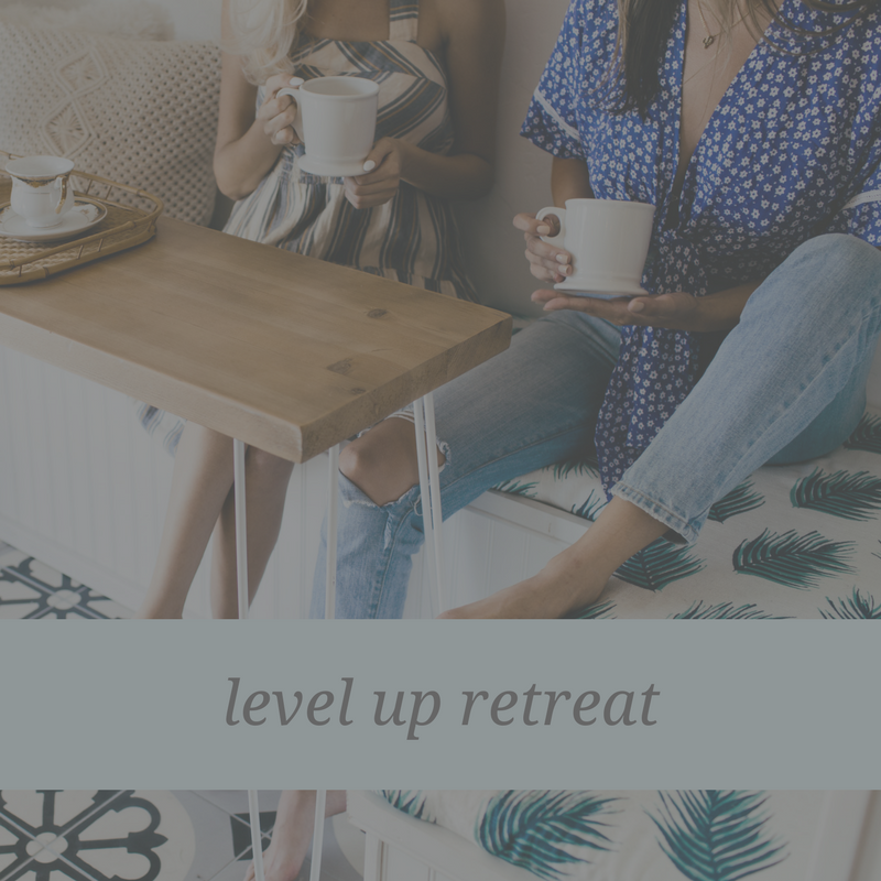 level up retreat women mavenly