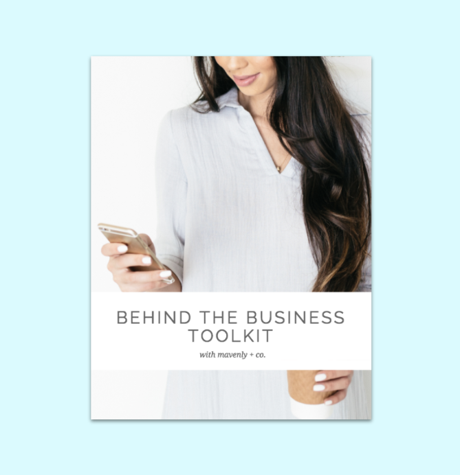 behind the business toolkit