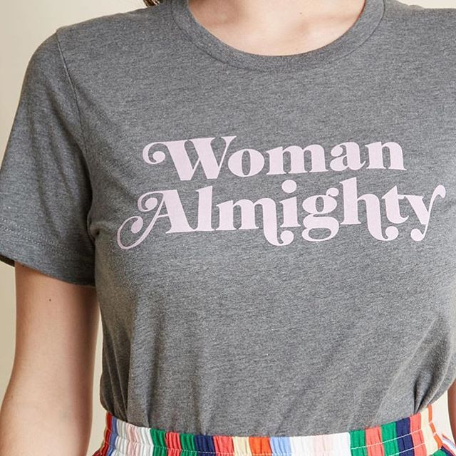 Women are strong. Women are powerful. Women can do whatever the hell they want. Women can make amazing things. 💯 This @daisynatives tee is giving us all the vibes we need to keep the momentum going this week. You are amazing!