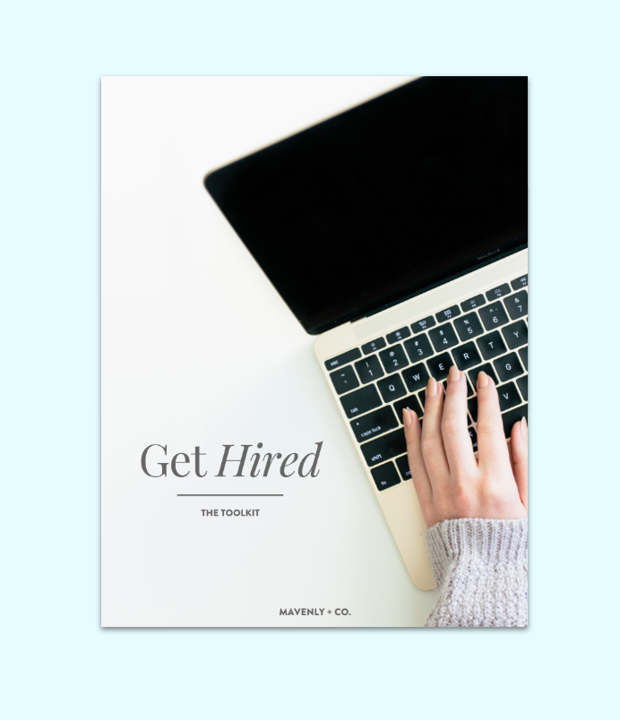 get hired toolkit