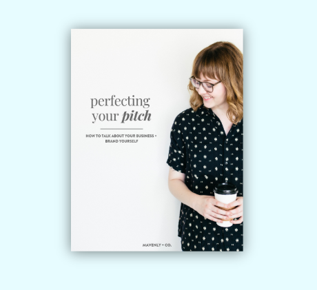 perfecting your pitch worksheet