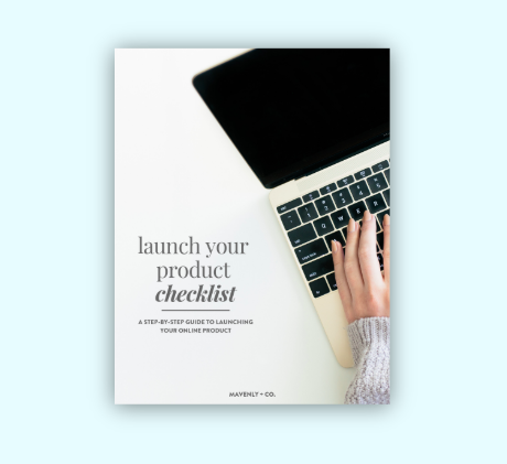 launch your product checklist