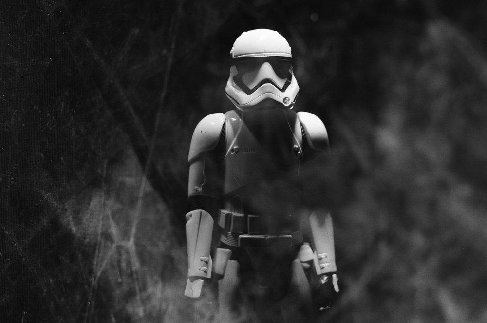 Jun 2016, Stormtrooper, Canon EOS-1, Tri-X - (c) Steven Starr