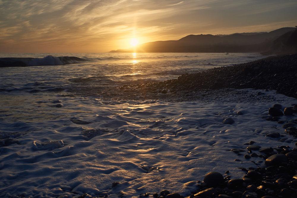El Capitan State Beach CA. (c) 2017 - Steven Starr