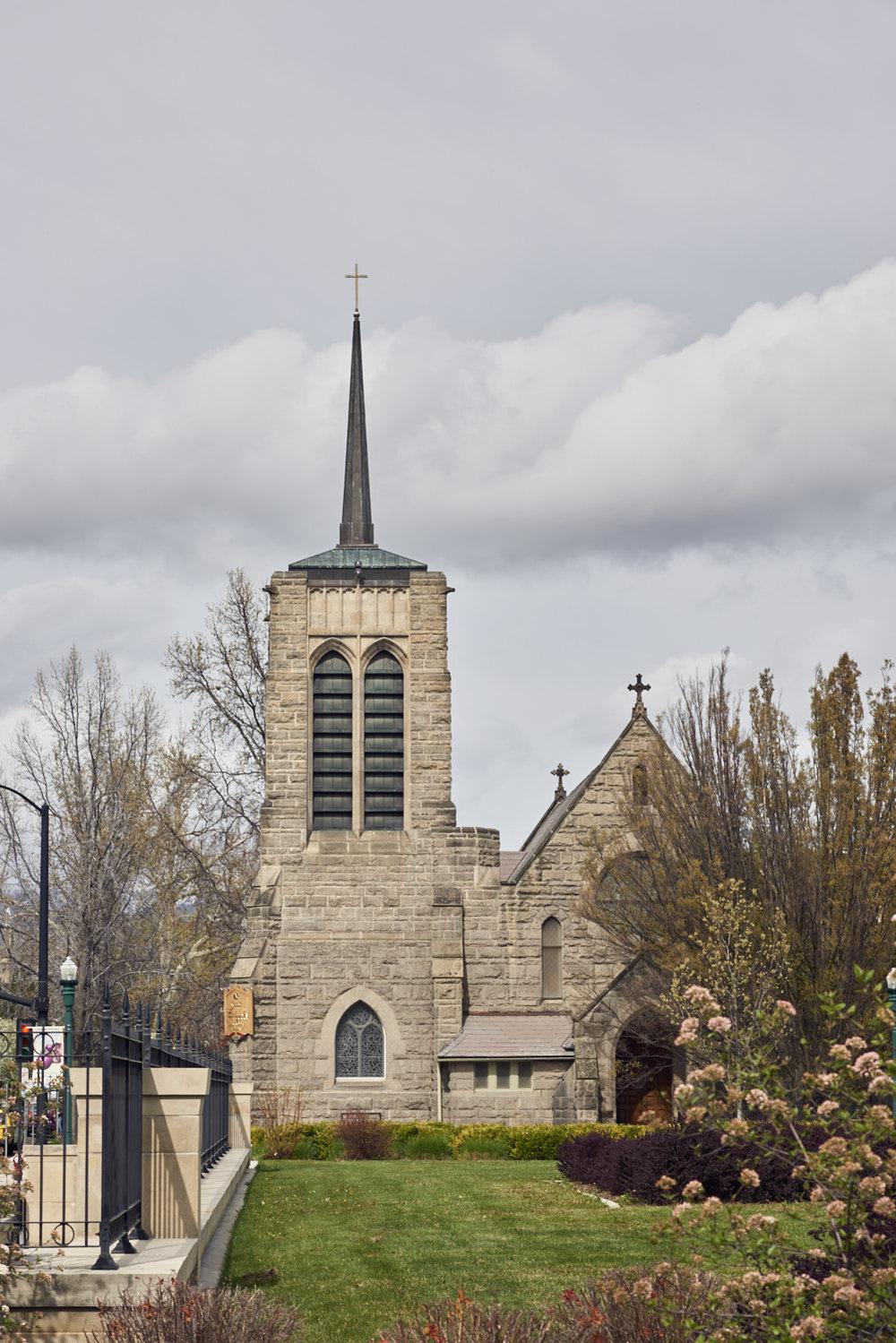 St. Michael's Church, Boise, ID. (c) 2017 - Steven Starr