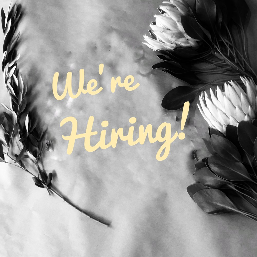 Join the Team - Want to become part of the team? Click the link below for our current job openings in our shop. We also are always open to freelancers during our busy seasons.