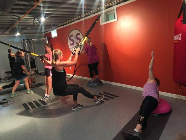 Small Group Training - Drop-in schedule available. $15 per session. Child watch available for select sessions. Space limited.