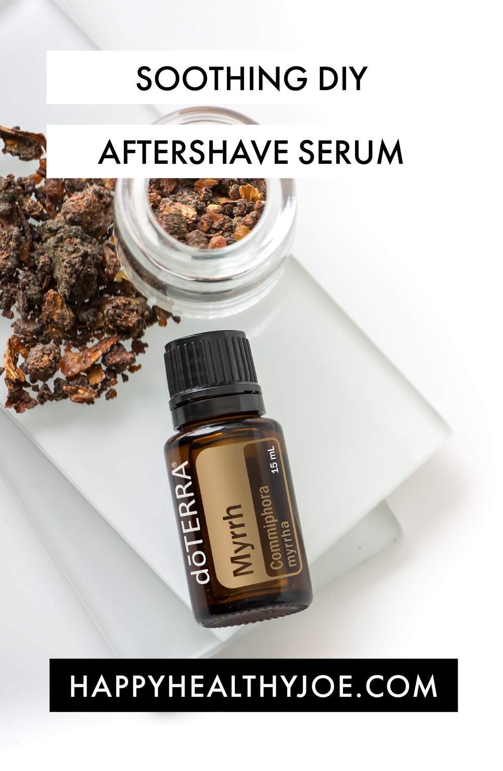 DIY Aftershave Serum with doTERRA Essential Oils