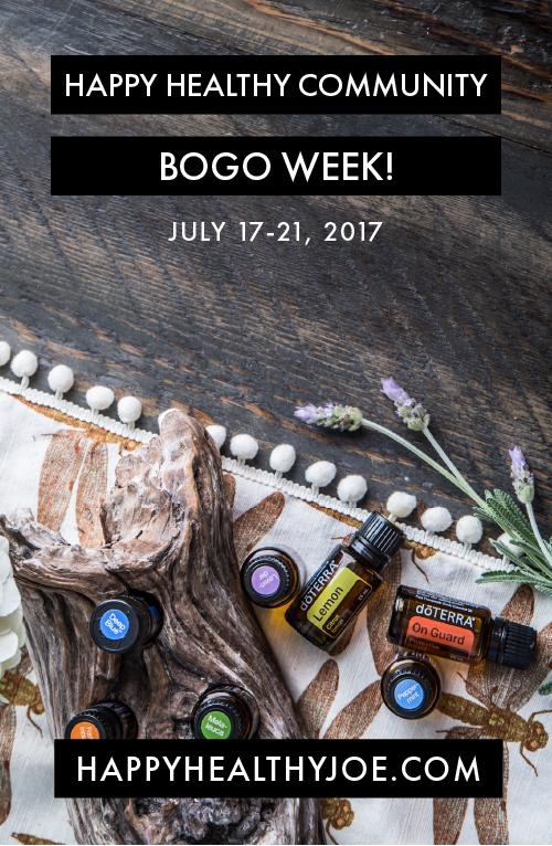 Happy Healthy Community Week of BOGOs!