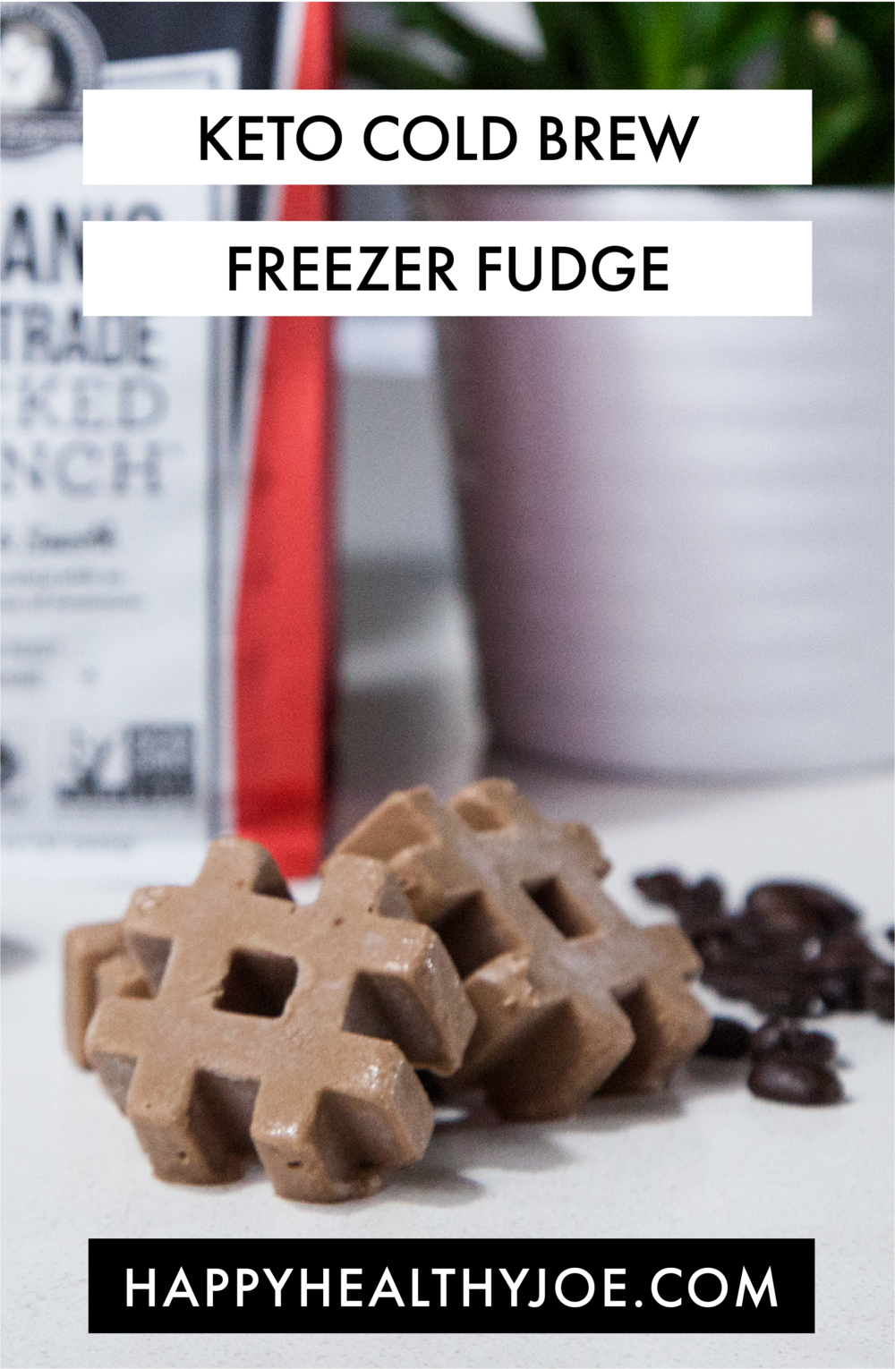 Keto Cold Brew Freezer Fudge Recipe