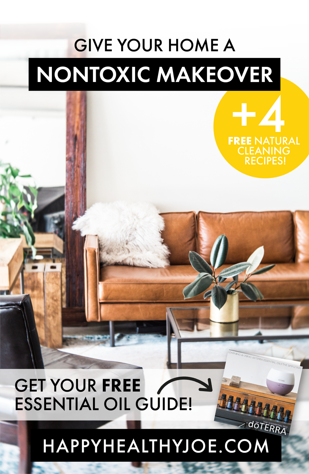 Give Your Home A Nontoxic Makeover | Happy Healthy Joe | Certified Integrative Health Coach